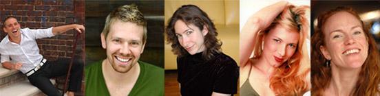 Joshua Dean, Ben Franklin, Michelle Dortignac, Kristin Olness, and Angela Jones