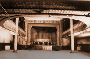 Connelly Theater during renovation